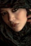 Portret van een mooi multi rassenmeisje Royalty-vrije Stock Afbeeldingen