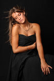 Portret van een mooi sexy meisje 1 stock foto