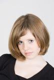 Portret van een mooi tienermeisje Royalty-vrije Stock Afbeeldingen