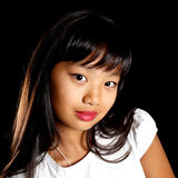 Portret van een mooie Aziaat Royalty-vrije Stock Fotografie