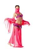 Portret van een mooie buikdanser royalty-vrije stock afbeeldingen