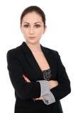 Portret van een mooie jonge bedrijfsvrouw Royalty-vrije Stock Foto