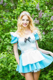 Portret van een Mooie jonge blonde Royalty-vrije Stock Afbeelding