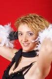 Portret van een mooie jonge vrouw Royalty-vrije Stock Foto's