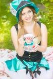 Portret van een mooie jonge vrouw Royalty-vrije Stock Foto
