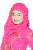 Portret van een mooie moslimvrouw Stock Afbeeldingen
