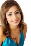Portret van een Mooie vrouw. Stock Fotografie