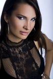 Portret van een mooie vrouw royalty-vrije stock foto