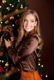 Portret van een mooie vrouw royalty-vrije stock fotografie