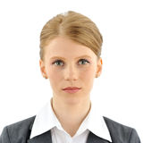Portret van een onderneemster Stock Foto's