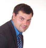 Portret van een ondernemer stock foto's