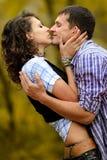 Portret van een paar in liefde royalty-vrije stock afbeeldingen