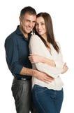 Portret van een Paar in Liefde stock foto
