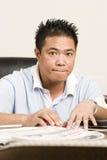 Portret van een Persoon Stock Foto's