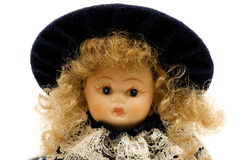 Portret van een pop stock afbeelding