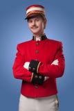 Portret van een portier (portier) royalty-vrije stock foto