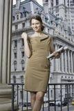 Portret van een professionele vrouw Stock Foto's