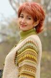 Portret van een rijpe vrouw royalty-vrije stock foto