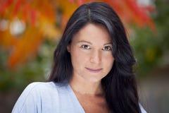 Portret van een rijpe vrouw stock fotografie