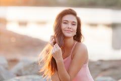 Portret van een Russisch meisje stock foto's