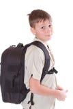 Portret van een schooljongen Stock Foto