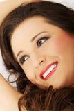 Portret van een schoonheidsvrouw Royalty-vrije Stock Fotografie