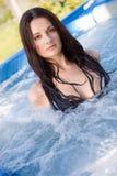 Portret van een sensueel meisje Stock Foto's
