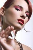 Portret van een sexy jonge vrouw Royalty-vrije Stock Afbeeldingen