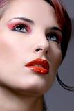 Portret van een sexy jonge vrouw Stock Foto