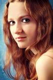Portret van een sexy vrouw Stock Foto's