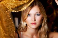 Portret van een sexy vrouw Royalty-vrije Stock Foto's
