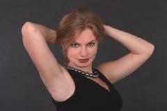 Portret van een spectaculaire vrouw Royalty-vrije Stock Afbeeldingen