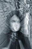 Portret van een spookmeisje Stock Foto's