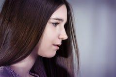 Portret van een tiener Stock Afbeeldingen