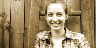 Portret van een tiener Stock Fotografie
