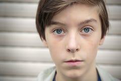 Portret van een tiener Stock Foto's