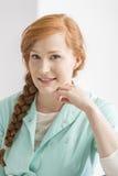 Portret van een verpleegster stock fotografie