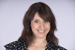 Portret van een vriendschappelijke vrouw Royalty-vrije Stock Fotografie