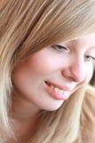 Portret van een vrouw Stock Fotografie