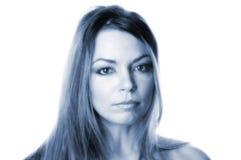 Portret van een vrouw Royalty-vrije Stock Afbeeldingen