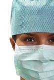 Portret van een vrouwelijke chirurg Royalty-vrije Stock Afbeelding