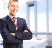 Portret van een zakenman royalty-vrije stock foto's