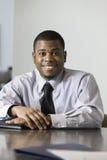 Portret van een zakenman. Stock Afbeelding