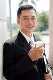 Koffie-onderbreking Stock Afbeeldingen