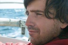 Portret van een zeeman royalty-vrije stock foto's