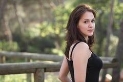 Portret van een zeer aantrekkelijke jonge vrouw Royalty-vrije Stock Fotografie