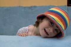 Portret van een zoet meisje stock foto's