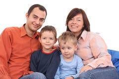 Portret van familie Royalty-vrije Stock Foto's