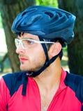 Portret van fietser Royalty-vrije Stock Foto
