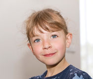 Portret van mooi meisje Royalty-vrije Stock Afbeeldingen